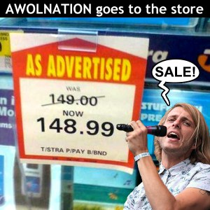 AWOLNATION-SALE