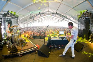 HangOut Music Festival - Big Gigantic - 5-21-11 - photo © Dave Vann 2011