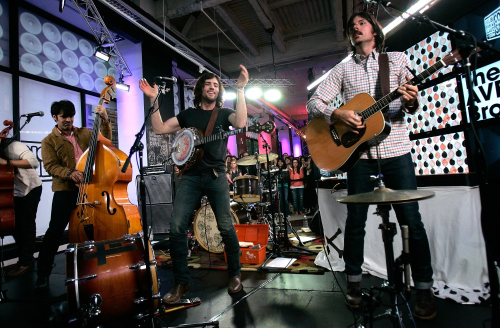 2012 MLB Fan Cave Concert Series - The Avett Brothers