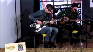 "RadioBDC Live in the Lab: Sam Roberts Band performs ""Were All In This Together"""