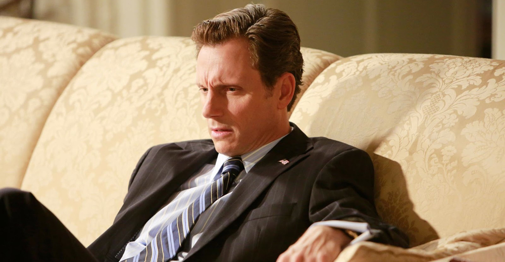 Scandal - Fitz on couch thinking