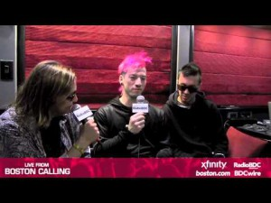 Boston Calling: Twenty One Pilots Interview