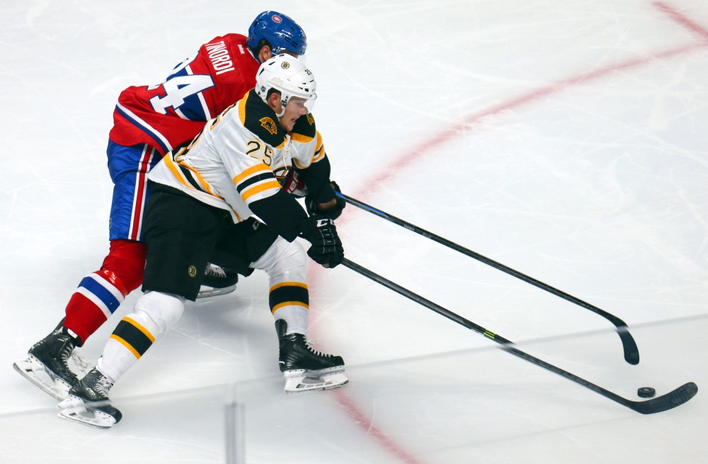 NHL: Preseason-Boston Bruins at Montreal Canadiens