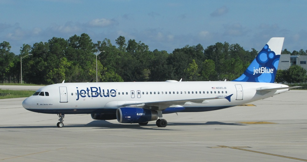 jet blue flight