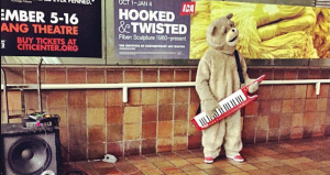 keytar bear attacked