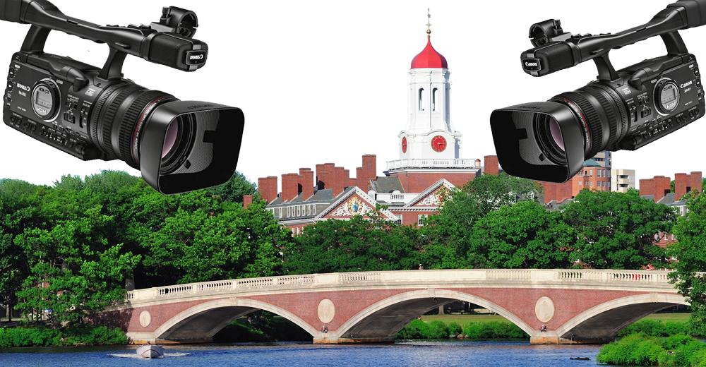 Harvard University campus in Boston