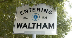 entering waltham