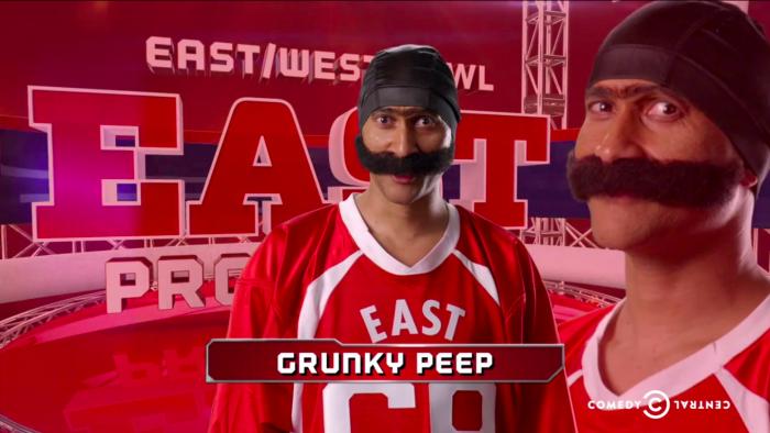 Grunky peep