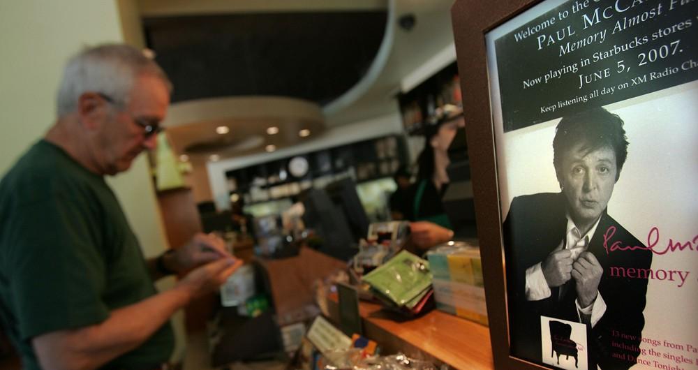 Starbucks Celebrates Upcoming Release Of Paul McCartney CD