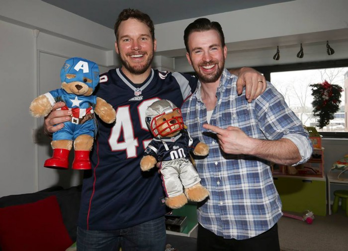 chris evans captain america bear