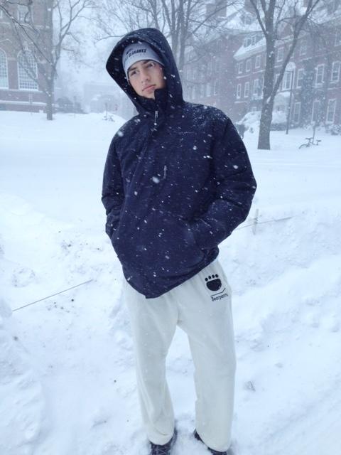 Bearpants in Snow
