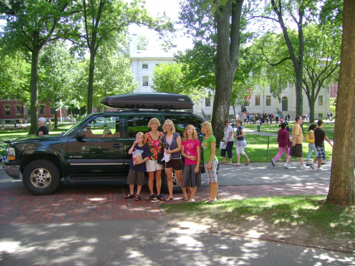 park car harvard yard