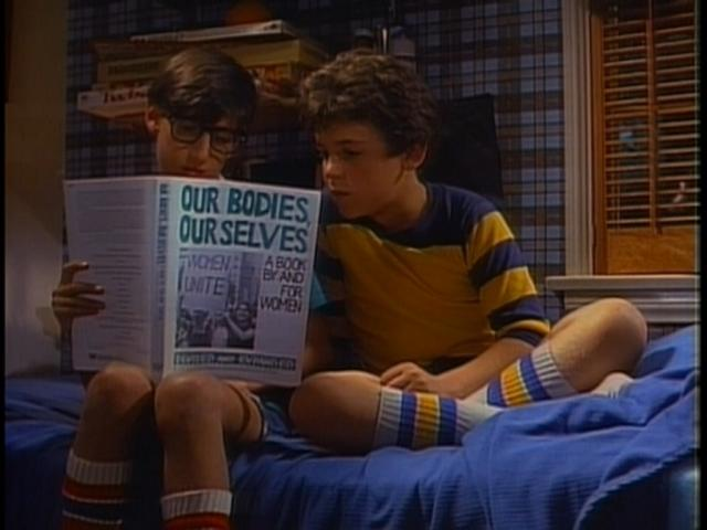 """Even Kevin Arnold was interested in """"Our Bodies, Ourselves"""" (The Wonder Years, Episode 1)"""