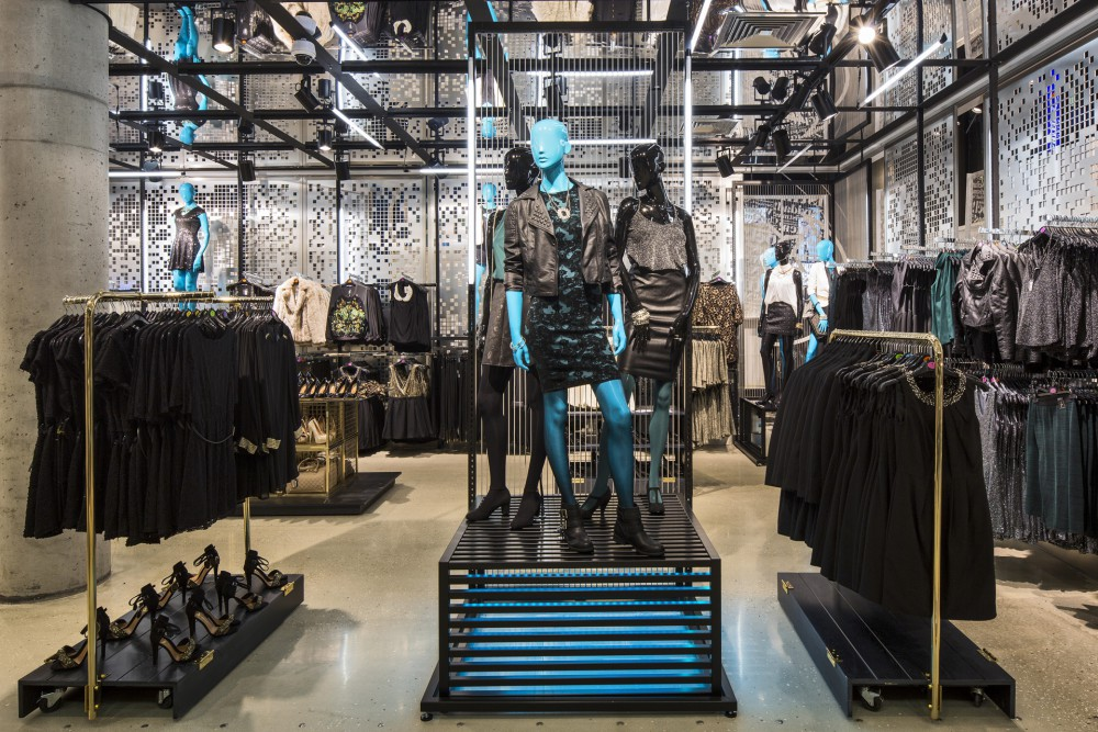 Interior shots of the Primark store in Dusseldorf, Germany. (Primark)