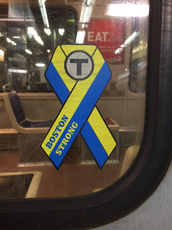 joe pesaturo official MBTA sticker