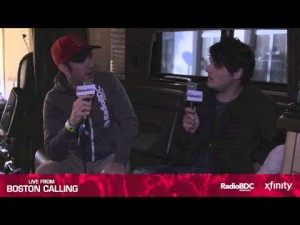 Live from Boston Calling: Gerard Way Interview