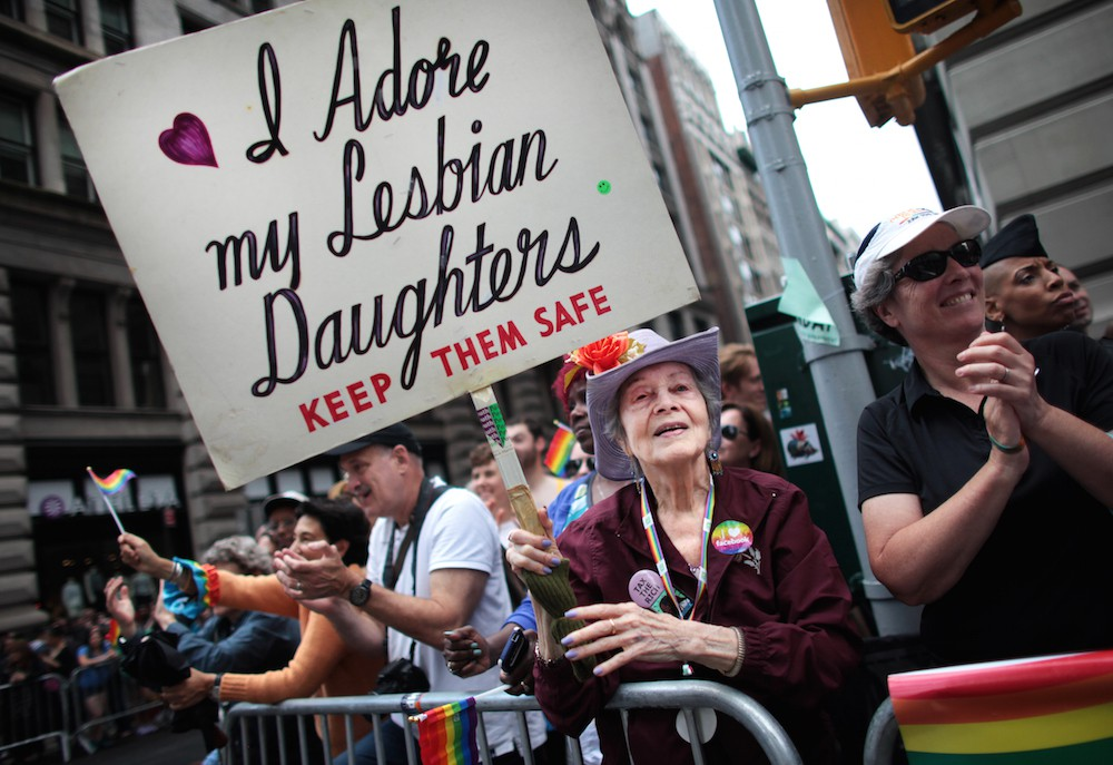 Gay Pride Parade Held In New York City