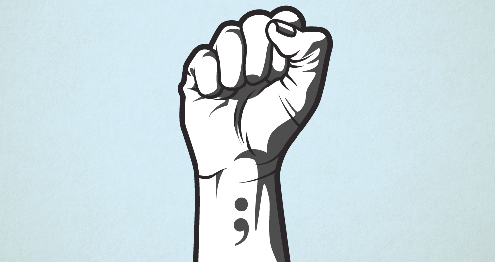 Semicolon tattoos aren't a trend. They're a symbol of a ...