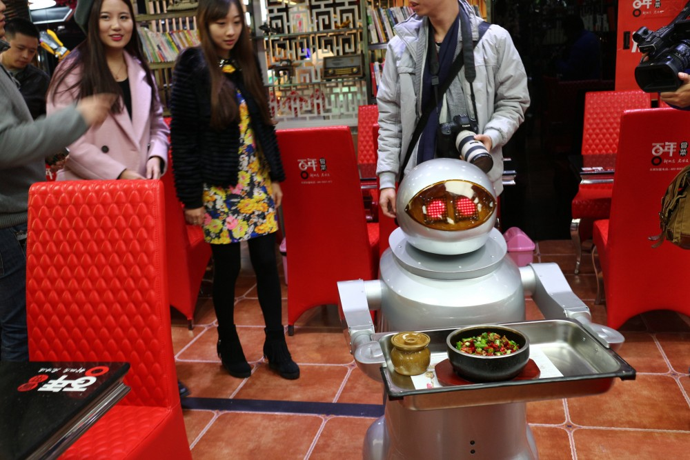 Restaurant Spends 100 Thousand US Dollars Hiring Robots As Waiters