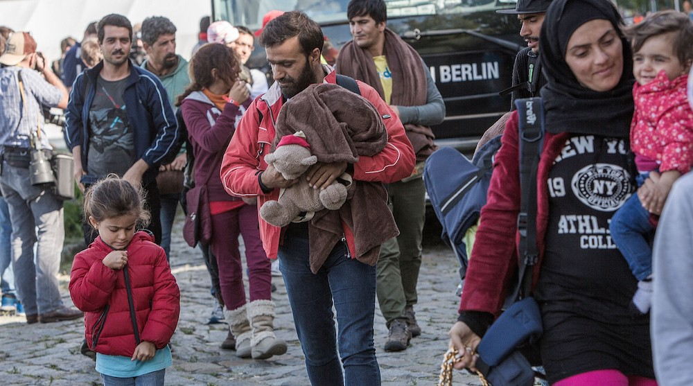 Germany Distributes Arriving Migrants Nationwide