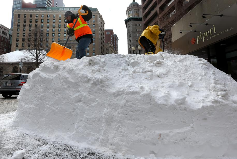 snow removal tremont street