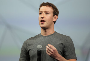 FILE - JULY 23:  According to reports July 23, 2014, Facebook Inc. sales rose to $2.91 billion in the second quarter, compared to $1.8 billion last year, topping the average analyst estimate of $2.81 billion. SAN FRANCISCO, CA - APRIL 30: Facebook CEO Mark Zuckerberg delivers the opening kenote at the Facebook f8 conference on April 30, 2014 in San Francisco, California. Facebook CEO Mark Zuckerberg kicked off the annual one-day F8 developers conference. (Photo by Justin Sullivan/Getty Images)