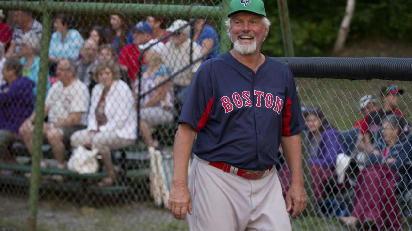 Bridgewater, Nova Scotia- July 2, 2015- Bill Lee is all smiles during Goodwill Games between Canada and Cuba.
