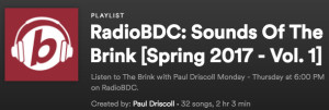 The Sounds Of The Brink - Spring Vol 1